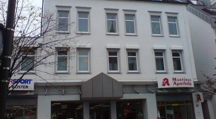 Olpe – Zentrum – Vier-Zimmer-Wohnung im Dachgeschoss